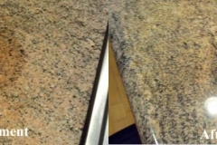 GRANITE COUNTER TOPS BEFORE AND AFTER