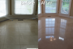 MARBLE FLOORS BEFORE AND AFTER