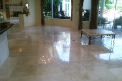TRAVERTINE FLOOR POLISH AFTER